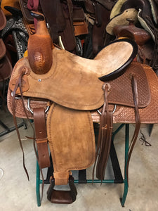 Cowboy Supply -T.M. - Horse Riding Saddle - Roper