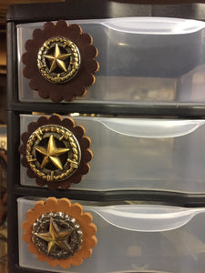 Anchor Brand - T.M. - Buckles and Conchos - Pic 5 Drawer 3