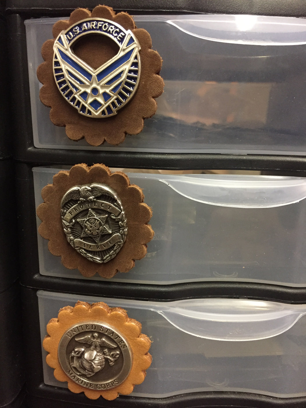 Anchor Brand - T.M. - Buckles and Conchos - Pic 22 Drawer 2