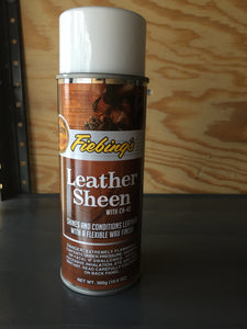 Leather Care - Fiebing Leather Sheen - 11 ounce aerosol