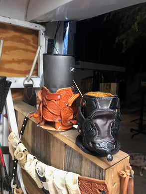 Bighorn Leather and Accessories - T.M. - Leather Goods - Saddle Koozie