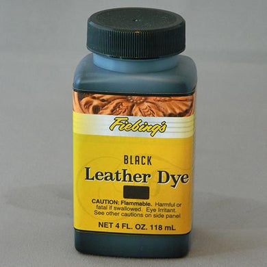 Leather Care - Fiebing 4 ounce Leather Dye
