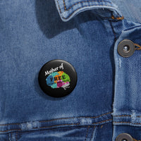 Free Black Children Buttons
