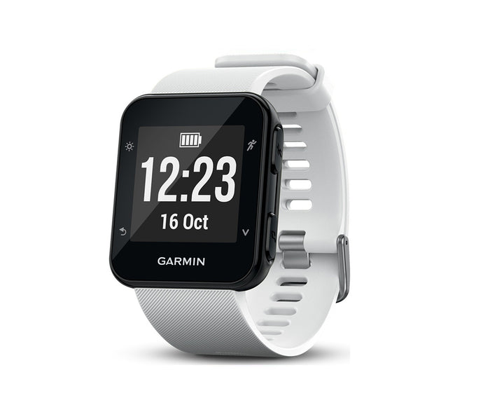 Garmin Forerunner 35 Running GPS Watch - White - LightStormElectronics