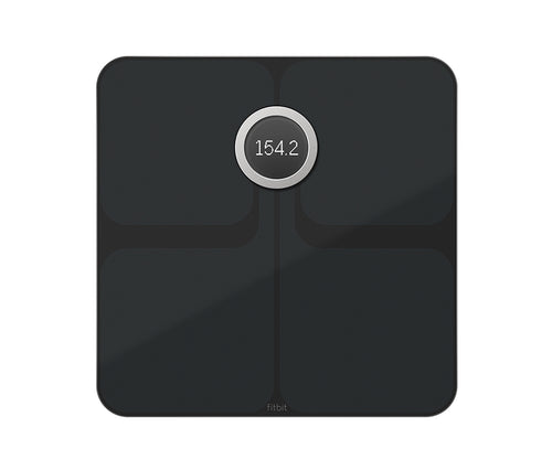 Fitbit Aria 2 - Smart Scale - Black - LightStormElectronics