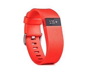 Fitbit Charge HR - Large - Tangerine - LightStormElectronics