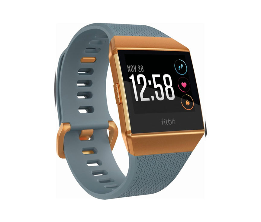 Fitbit Ionic - Burnt Orange - Slate Blue - LightStormElectronics