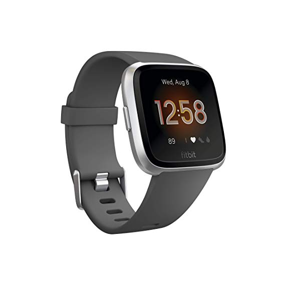 Fitbit Versa Lite Edition Smartwatch - (Charcoal) - LightStormElectronics