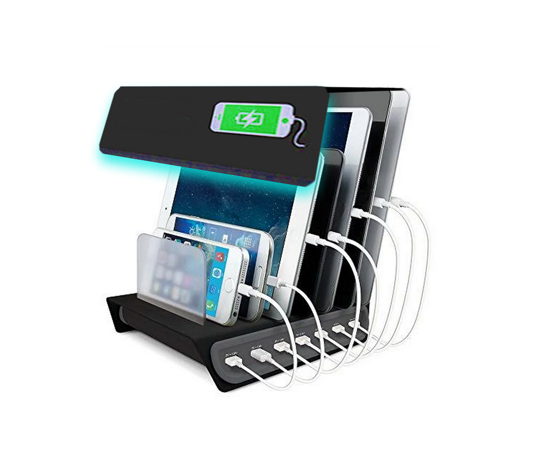 Light Storm Device Charging Bay - 10 Devices (Expo Edition) - LightStormElectronics