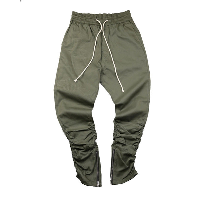 Drawstring Stacked Joggers