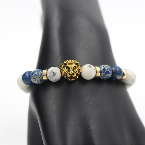 King of The Jungle Lion Bracelet