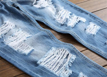 Roughed Ripped Jeans