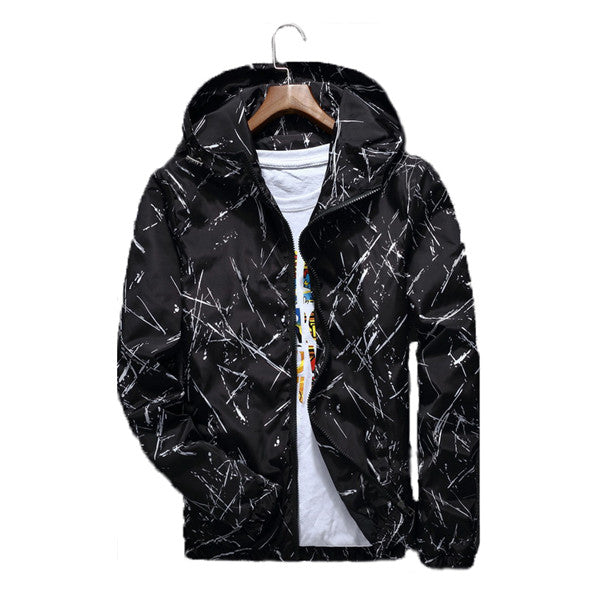 Paint Splatter Wind Breaker