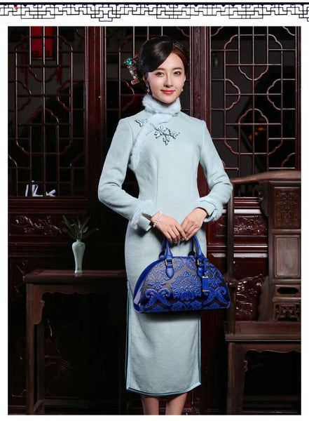 SPECIAL OFFER: New Flowers Embossed Chinese Style Vintage Fashion Leather Shell Bag and Handbag