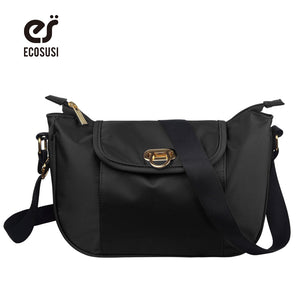 ECOSUSI New 6 Color Nylon Shoulder Bags, Hobos Designer Handbags, Messenger Bags