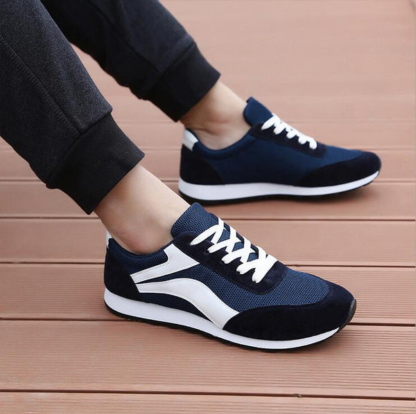 SPECIAL OFFER: New Arrival Sport Running Shoes, light Air Canvas Flat Tennis Walking Shoes Hombre