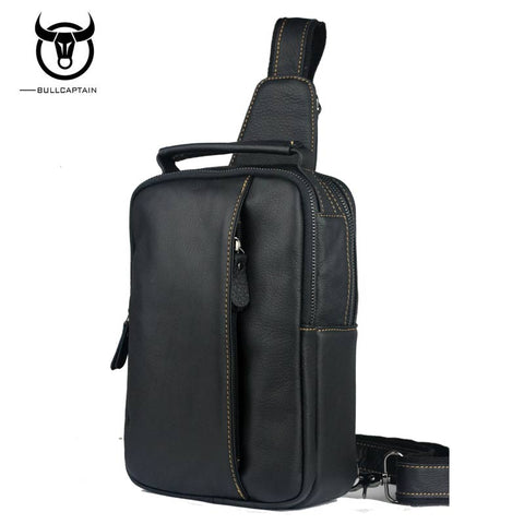 LIMITED STOCK (30 pcs): BULL CAPTAIN Genuine Leather, Shoulder Bags, Crossbody Bags, Chest Bags