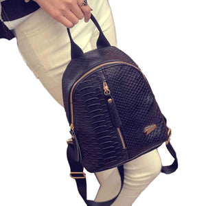 Ladies Backpacks Small Leather Schoolbags Travel Shoulder Bag
