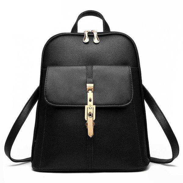 Women Backpack Bags, Rucksack Leather School Travel Shoulder Bag mochila feminina