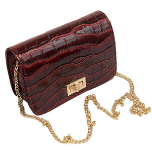 Women Crossbody Vintage Leather Mini Small Bag, Messenger Bag, Small Clutch Bag