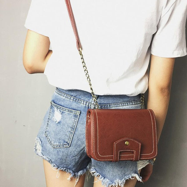Leather Shoulder Bags, Messenger Bags, Slim Crossbody Handbags, bolsa feminina