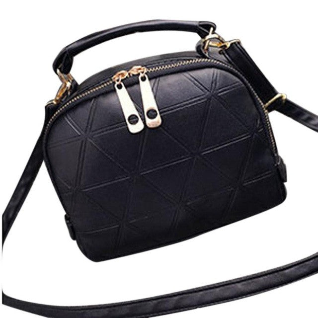 Women Bag Casual Fashion Tote Purse PU Leather Handbag Messenger Shoulder Bag bolsa feminina
