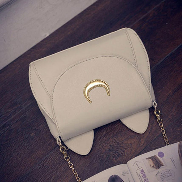 Women Sailor Moon Leather small crossbody shoulder messenger bags bolsa feminina