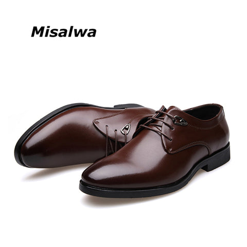 SPECIAL OFFER: Hot Sale Leather Oxford Formal Business Pointy Shoes Size 38-45 for Men