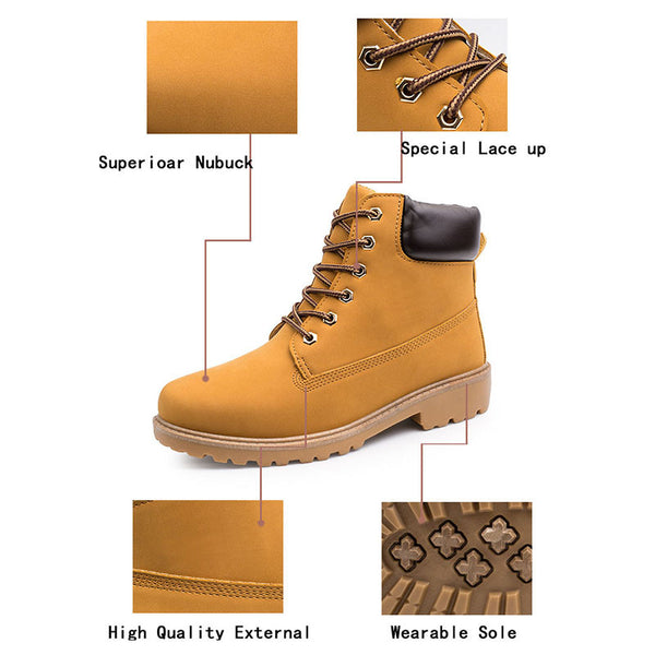 Merkmak Women's Shoes Fashion Boots Winter Autumn New Style Breathable Shoes Brand Designer