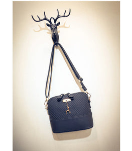LIMITED STOCK: TTOU Fashion Pu Shell Bag Deer Decoration Crossbody Bag, Mini Shoulder Bags