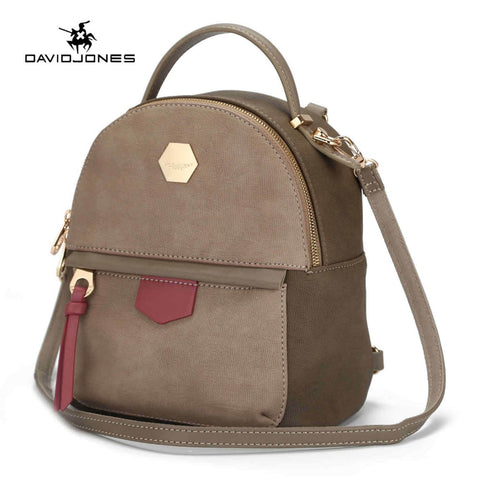 LIMITED STOCK: DAVIDJONES Mini Backpack, School Shoulder bags Sac a dos rugzak