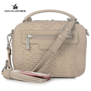 LIMITED OFFER: DAVIDJONES designer crossbody bags serpentine envelope vintage Top-handle Bag