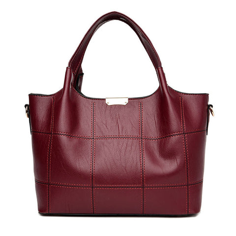 45d70d8ef9 Annmouler High Quality Elegant Casual Handbags Tote Large Capacity Shoulder  Bags