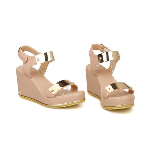 SPECIAL OFFER: Summer High Heels Gladiator Sandals, Wedges Open Toe High Flip Flops Shoes