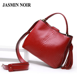 SPECIAL OFFER: Fashion Serpentine High Quality Genuine Cow Real Leather Tote/Crossbody Bags