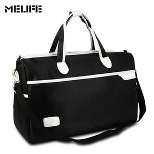 MELIFE Sport Gym Fitness Bag Large Capacity Nylon Duffel Bags Multi-function Portable Travel Bag