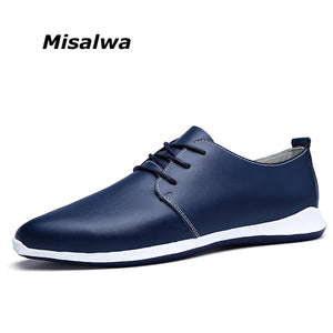 Misalwa Men Casual Shoes Big Size 6-12 Light Weight Soft Men Loafers Driving Shoes