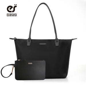 ECOSUSI Brand Design 2018 New Nylon Soft Handbags, Crossbody Bags for Ladies, Bolsas Sac