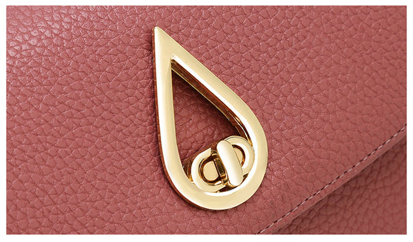 TTOU Fashion Handbag Water Droplets Sequined Crossbody Bag High Capacity Shell Shoulder Bag