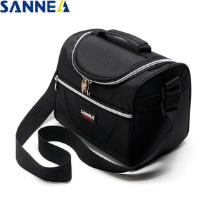 LIMITED OFFER: SANNE Simple and Stylish Thermo Lunch Bags, Cooler Insulated Picnic Food Box