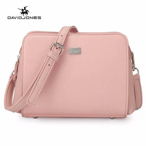 LIMITED STOCK: DAVIDJONES PU Handbags, Vintage Shoulder Bags, Totes Bags For Women Sac