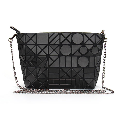 Famous Brand Bao Bags, Chain Luminous Crossbody, Shoulder Bag, Geometric Quilted Luxury Handbag