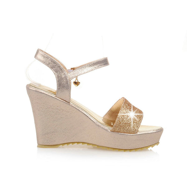SPECIAL OFFER: NEMAONE Summer Shoes Wedges Sandals, Open Toe Platform High-heeled Shoes