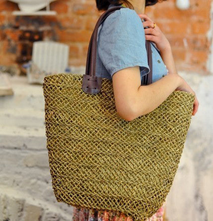 Straw Bag New Hot Summer Fashion Beach Bags, Woven Light Material Bag for Ladies