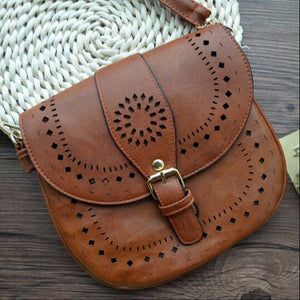 LIMITED OFFER: Small Casual Crossbody Bags, PU Hollow Out Purse Handbags, Bolsas Feminina Vintage