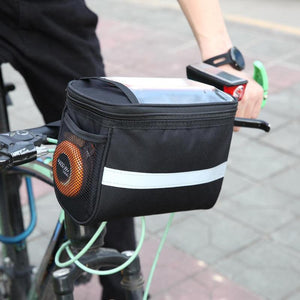 LIMITED OFFER: Bicycle Handlebar Bags, Touch Screen Phone Holder, MTB Road Bike Case, Pouch