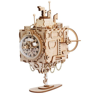 Robotime Assemble Yourself Submarine Music Box