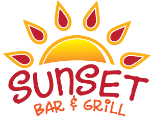 Custom Sunset Bar and Grill Neon Sign