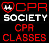 Custom CPR Society Neon Sign