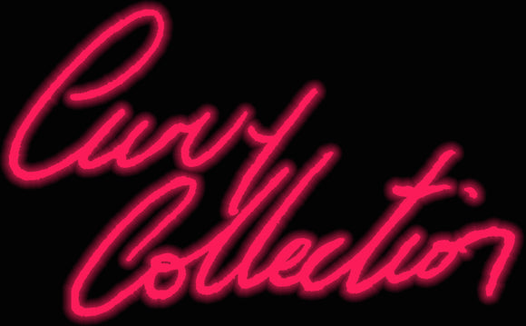 Custom Curvy Collection Neon Sign